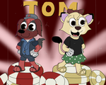 Tom and Star - Cuphead 2018 (Reupload) by Kraneimation