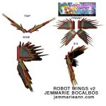 Audition Wing Creation: Robot Wings by moonlight-fox