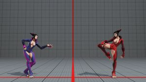 Juri Cleavage (No Eye Patch) by BrutalAce