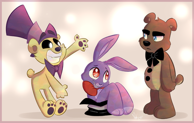 FNAF - Magic Trick by KicsterAsh