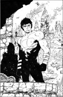 Superboy teaser by MarkIrwin
