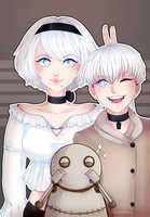 Automata's Family by AruOwlsArts