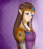 Twilight Princess Zelda - Smile by SelenaLynne