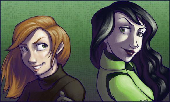 Kim and Shego by Kecky