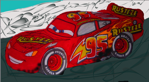Cars 3: custom Lightning McQueen (3.0) Muro by sgtjack2016