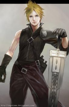 Cloud from Final Fantasy AC by yagatama