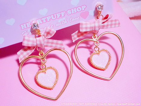 [HEARTPUFF SHOP] CLIP-ON EARRINGS NOW AVAILABLE! by Pikiru