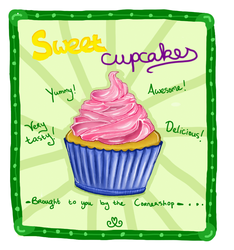 Sweet cupcakes by Blossomleafstylez