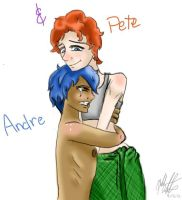 Andre and Pete by bookxworm89