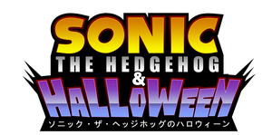 Sonic The Hedgehog And Halloween Logo by NuryRush
