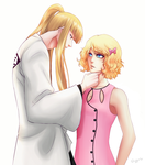 Commission: Marise and Captain Shinji by DivineImmortality