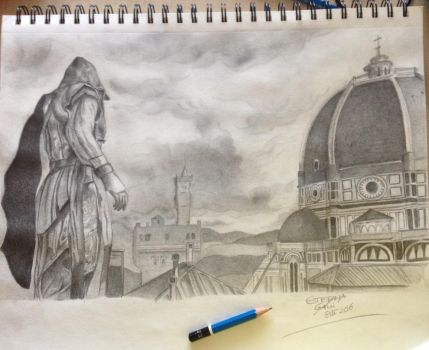Assassin's creed by StefaniaGalli
