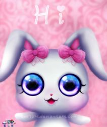 kawaii bunny (gift for Yumi-PPG ) by SNO7ART