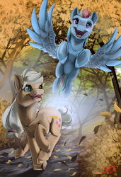 Running Of The Leaves by BlindCoyote