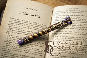 Potter BOOKMARK personalised for order - letters by SilverclockCostumes