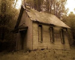 Forgotten Schoolhouse by jmarie1210