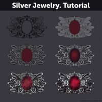Silver Jewelry. Tutorial by Anastasia-berry
