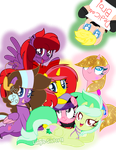 (Gift) The Group of My Good Peeps (SP) by Luigis-Sister18