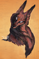 Coloringthespiritwolfdoodle7 by tiamat