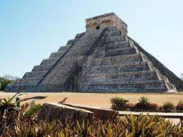 Chichen Itza Temple by kamuidestiny