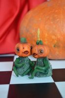 Pumpkins 003 by Irik77