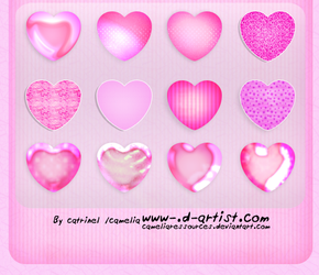 Pink photoshop layer styles 2 by cameliaRessources