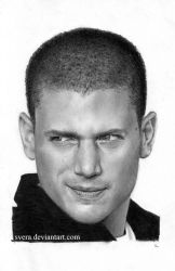 Wentworth Miller by Svera
