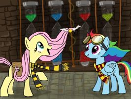 Hogwarts Ponies by cobralash