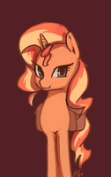Sunset Pone by Penny-Wren