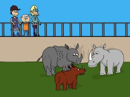 Special Sibling Bond: At the Zoo with Sam by Ezmanify