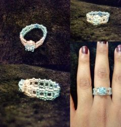 Frost Coloured Ring by The-Mad-Crafter