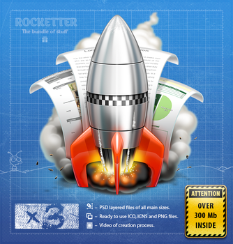 Rocketter Happyness Pack by ncrow
