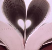 My Love Inside a Book by LuuDax