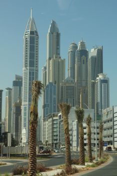 Dubai Skyscrapers Never End. by Squidt