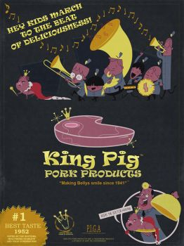 King Pig's Delicious Treats by 2DCale