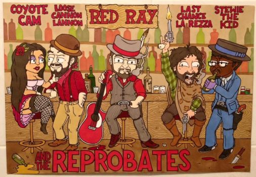 Red Ray and The Reprobates by Bristol-Koopa