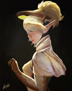 Mercy by Jackiefelixart