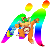 Bowser Jr. by Jesness