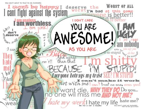 You are Awesome by CellsArt