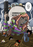 Gamergate third anniversary by KukuruyoArt