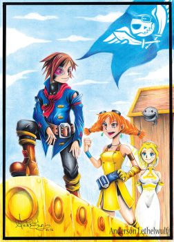 Skies Of Arcadia my Fanart by Lendrill