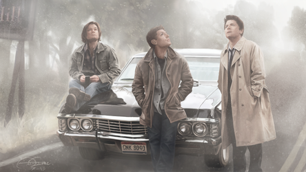 SPN/SH: Wrong Turn by le-shae