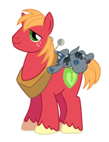 Big Mac and Smarty Pants by DrLonePony