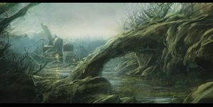 The Swamp by merl1ncz
