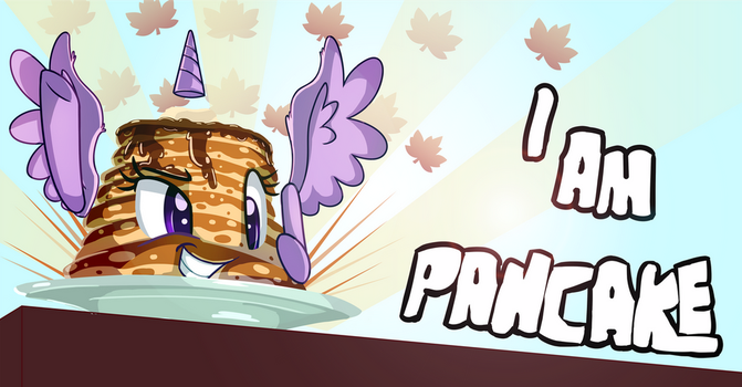 I am Pancake by thediscorded