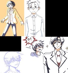 Erased Iscribble Doodle Dump 2 by x-Arrows-of-Time-x