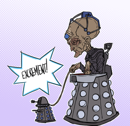 Davros And Pet by 600poundgorilla