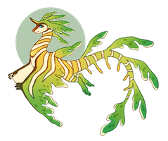 Seagon: Leafy Sea Dragon (CLOSED) by Ponkochi