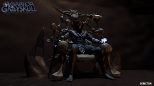 MOTU - Skeletor Enthroned 1 by paulrich