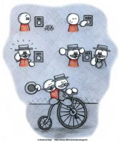Buttons and Penny-farthings by AK-Is-Harmless